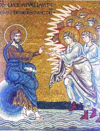 Việc tạo dựng và các thiên thần